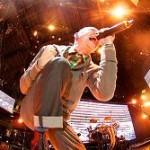 Chester gibt Vollgas auf der Bühne