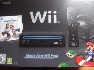 Nintendo Wii mit Mariokart
