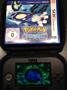 Pokemon Hülle und Startbildschirm